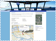 Gans Cargo Website: Contact webpagina.