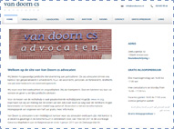 Van Doorn CS Advocaten website.