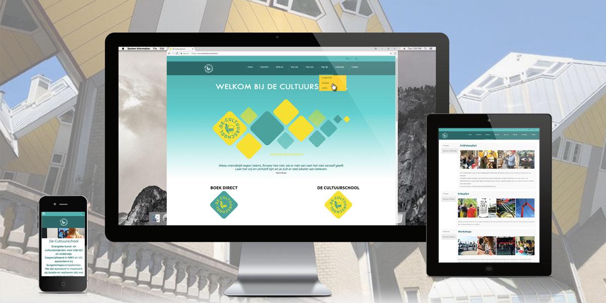 Website-collection-Slider-Cultuurschool