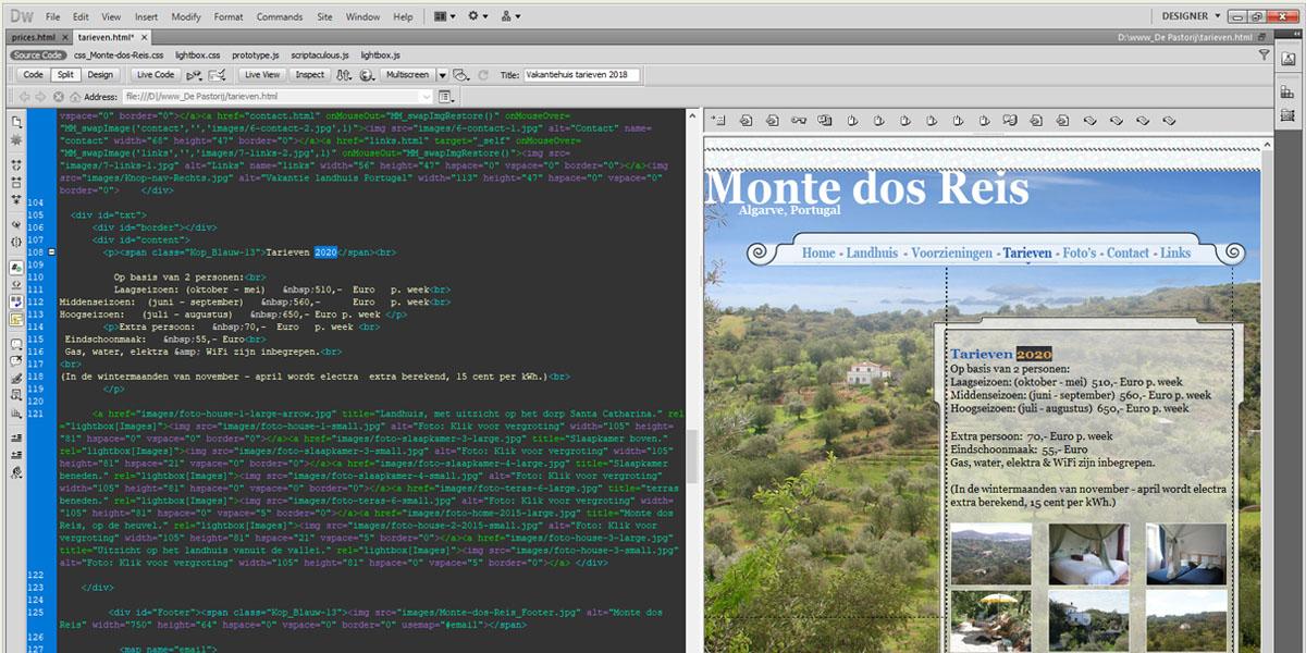 Website-collection-Slider-Dreamweaver_Code