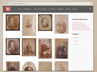 Fotoalbum 1860 website